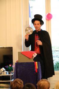 spectacle de magie à domicile