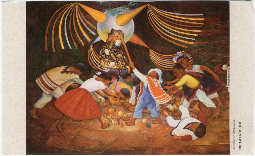 La Piñata de Diego Rivera